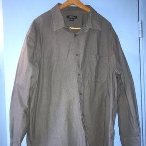 Men's Button Up Claiborne 3XL Shirt